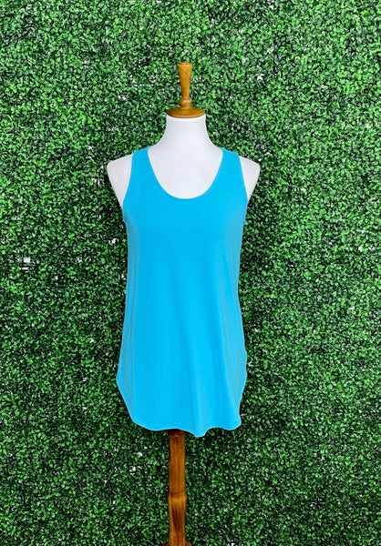 Favorite Swing Tank in Ice Blue