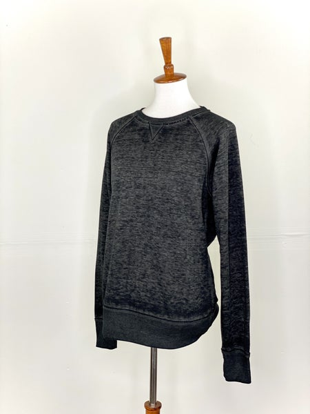 The Black Vintage Crewneck Sweatshirt