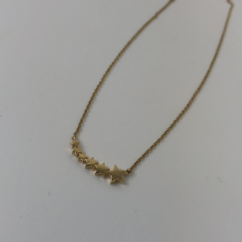 Stars Line Up Necklace