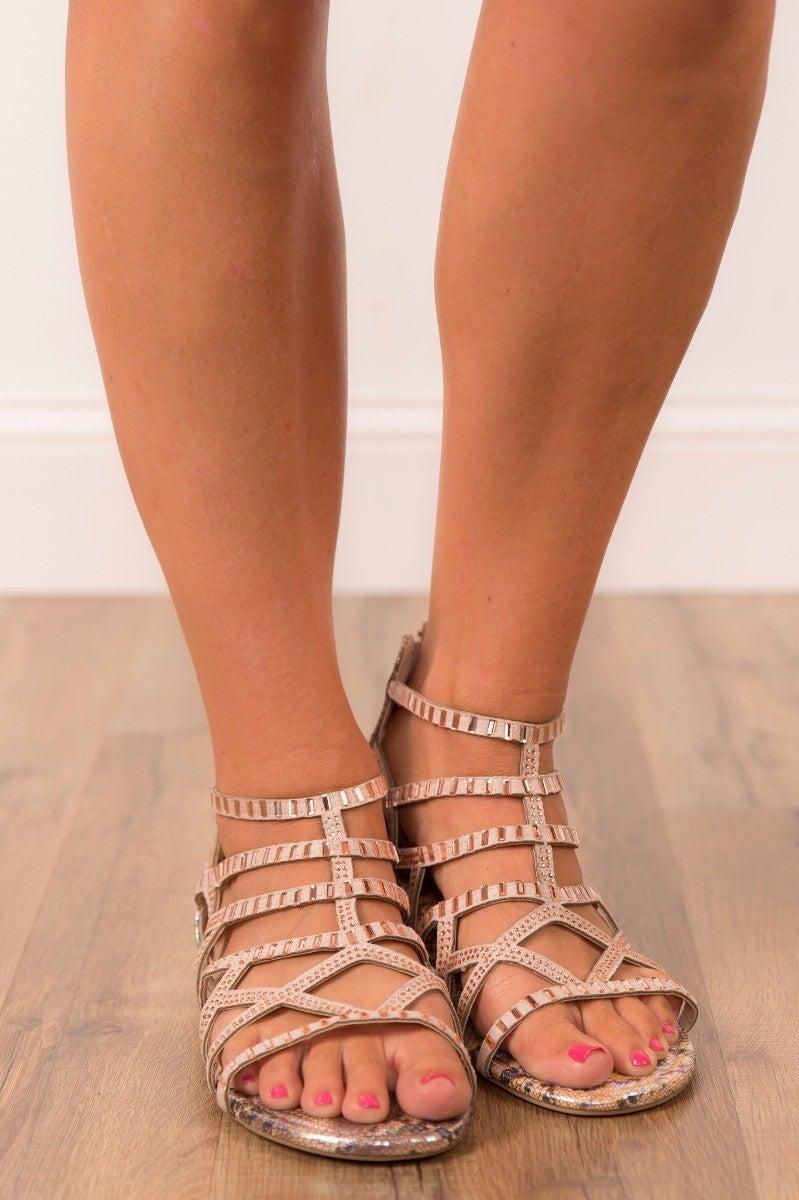 Shining Through Sandal