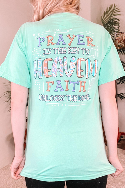 Prayer Is The Key Graphic Tee