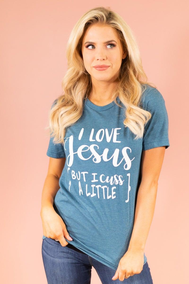 Love Jesus Graphic Tee