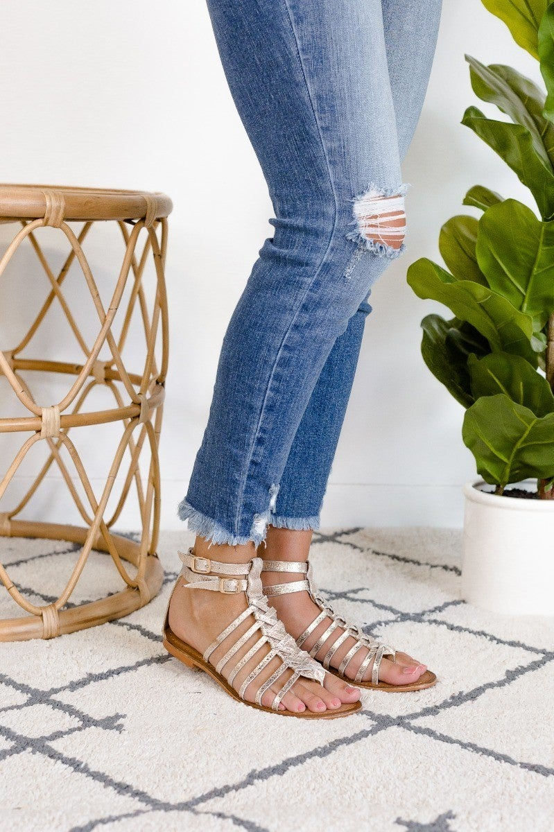 Set A Shining Example Sandal