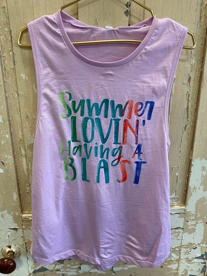 Summer Lovin Graphic Tank