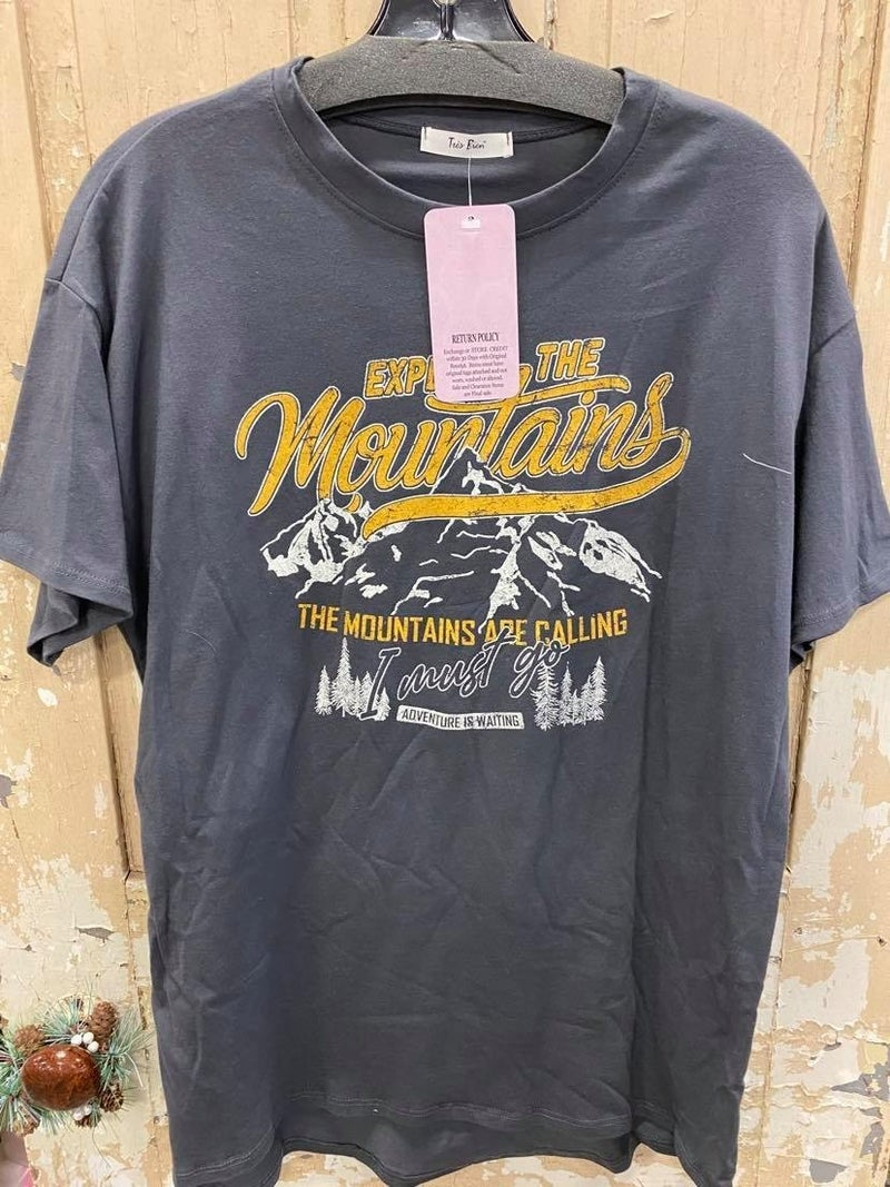 Explore The Mountains Graphic Tee