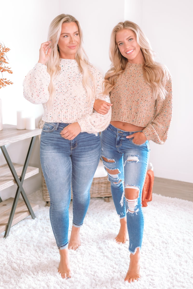 Might Not Understand Cropped Sweater