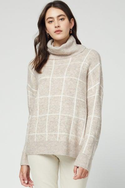 Tic Tac Turtle Sweater
