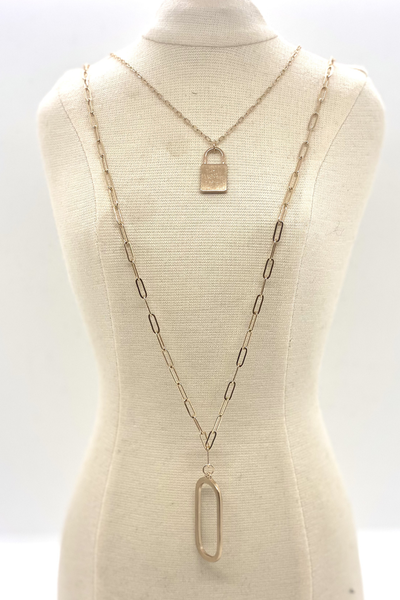Lock Of Ages Necklace