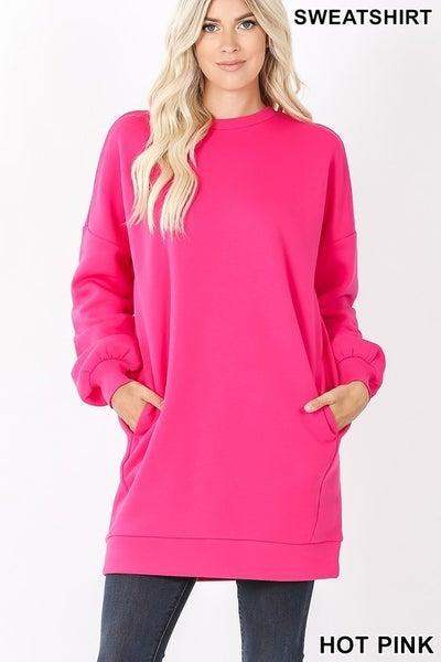 All She Wants To Do Sweatshirt (DRESS)