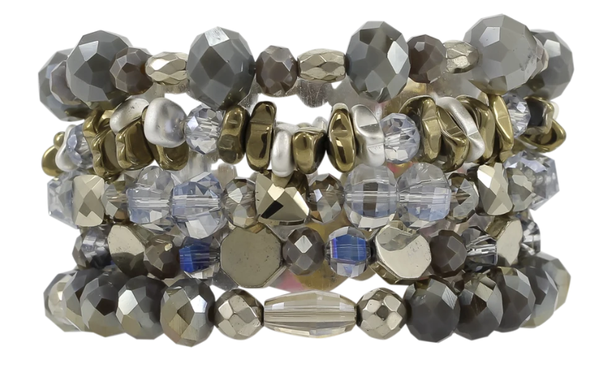 Chained Erimish Bracelet Stack Set