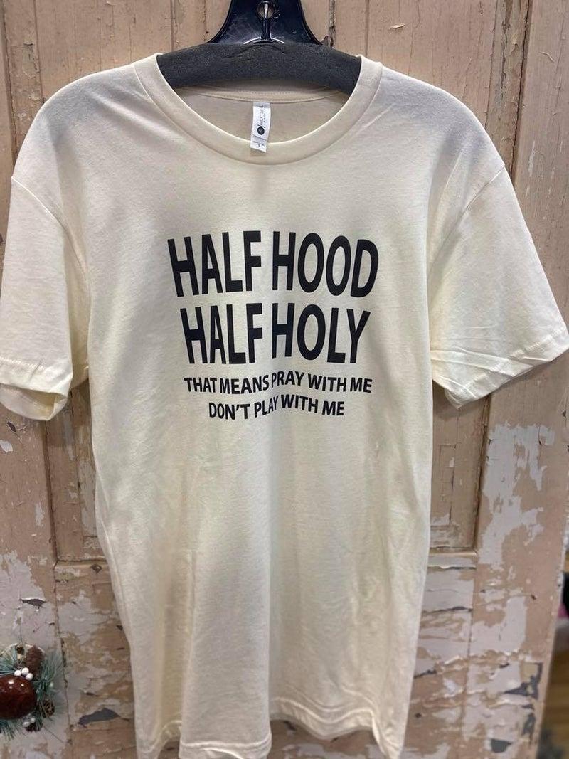 Half Hood Graphic Tee