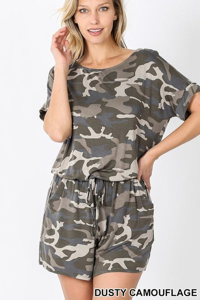 Holding On To You Romper