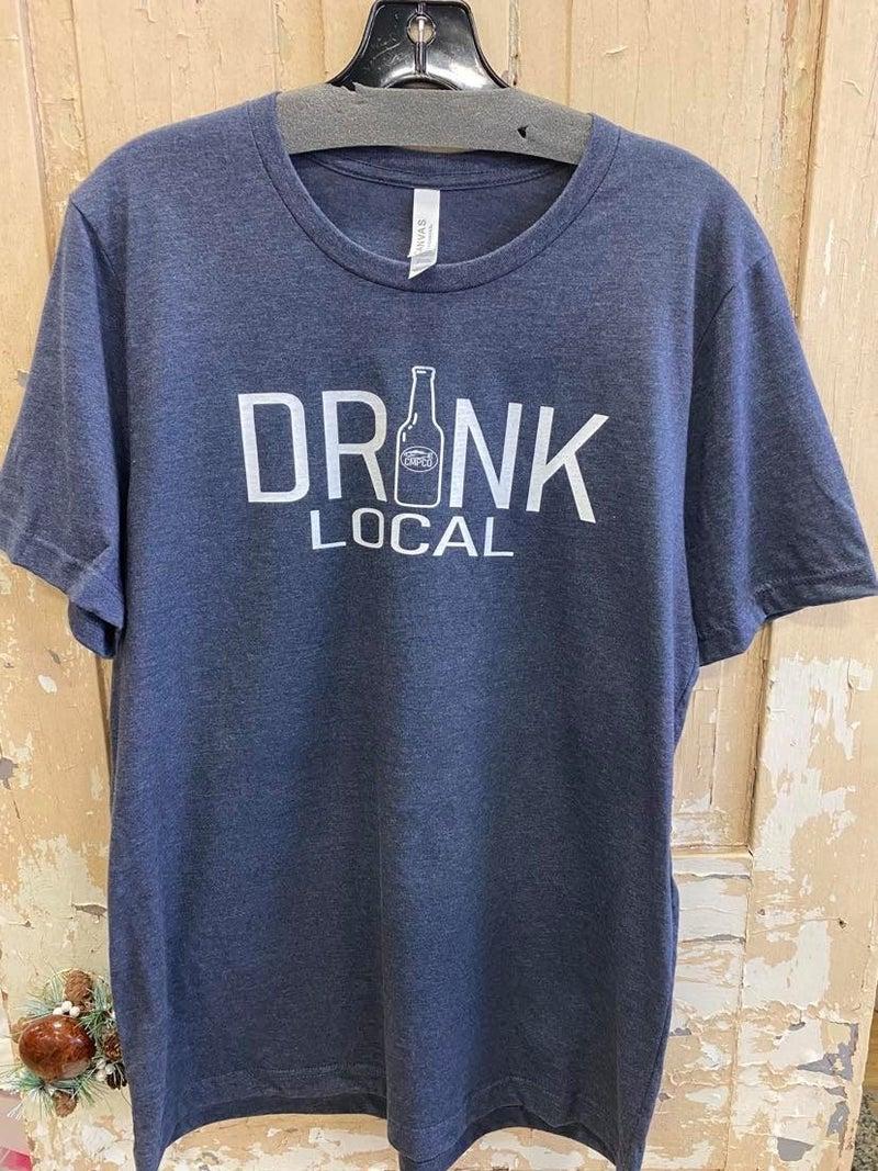 Drink Local Unisex Graphic Tee