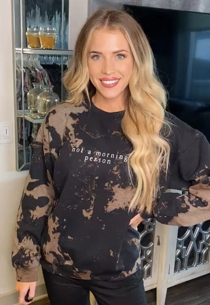 Morning Person Graphic Sweatshirt