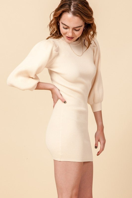 Know All About You Sweater Dress