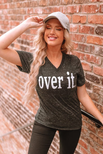 So Over It Graphic Tee