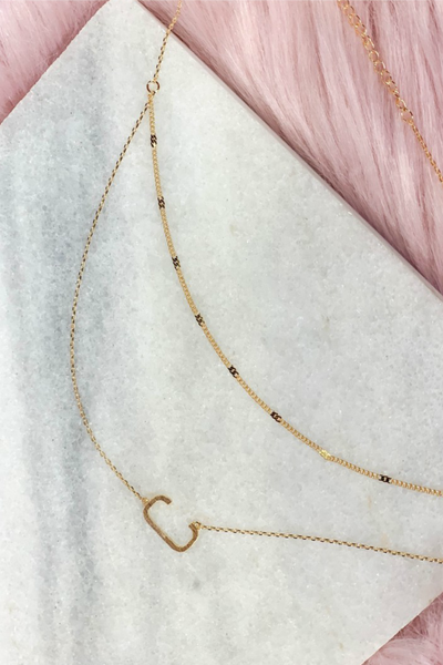 My Letter Necklace