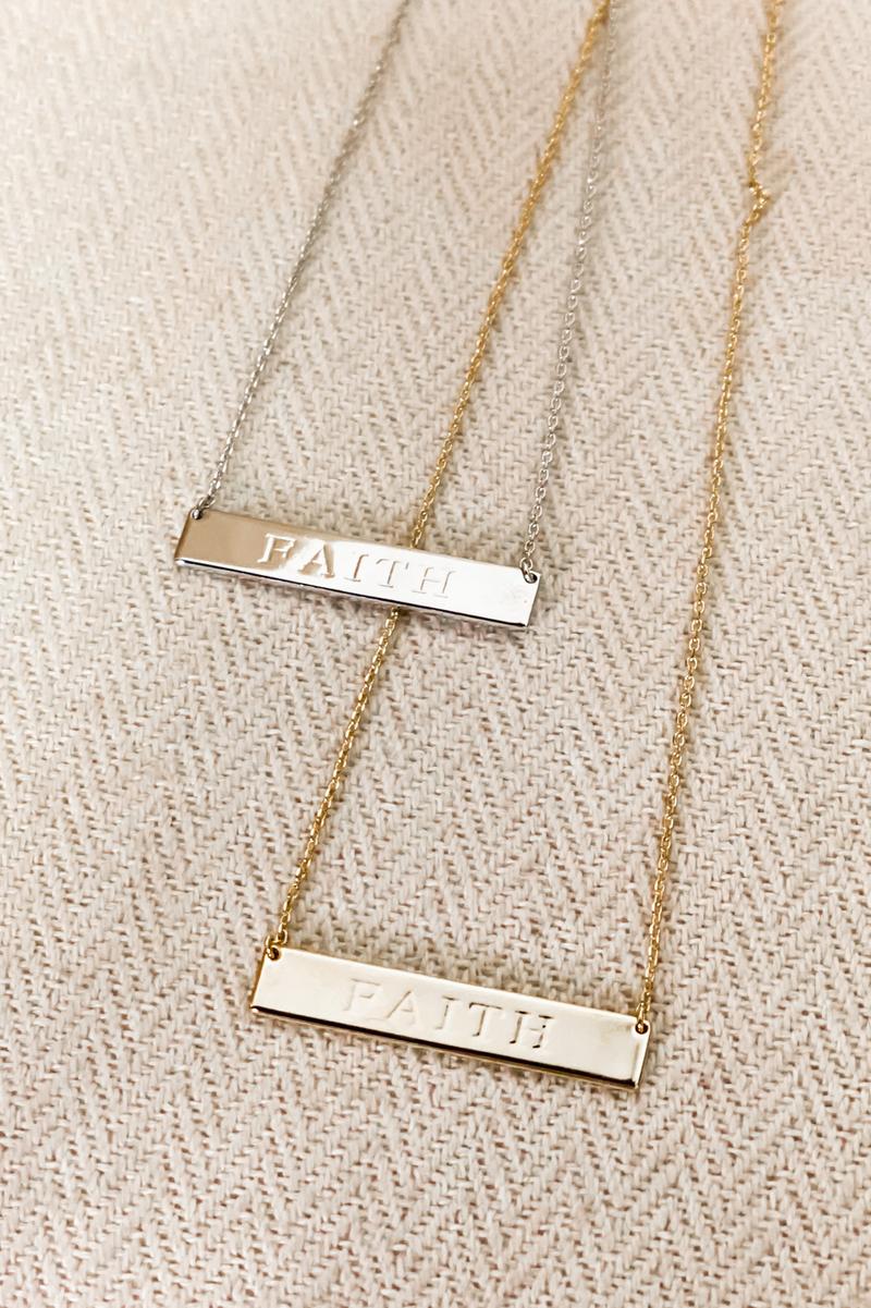 Faith In Myself Necklace