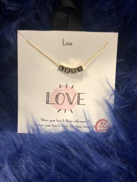 Blocks of Love Necklace