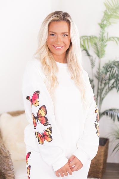 Flutter Away Sweatshirt