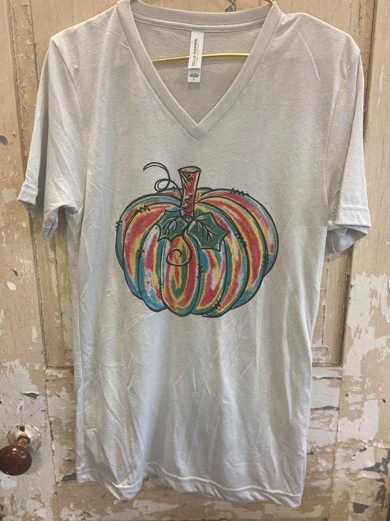 Watercolor Pumpkin Graphic Tee