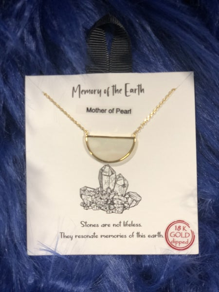 Memory Of The Earth Necklace