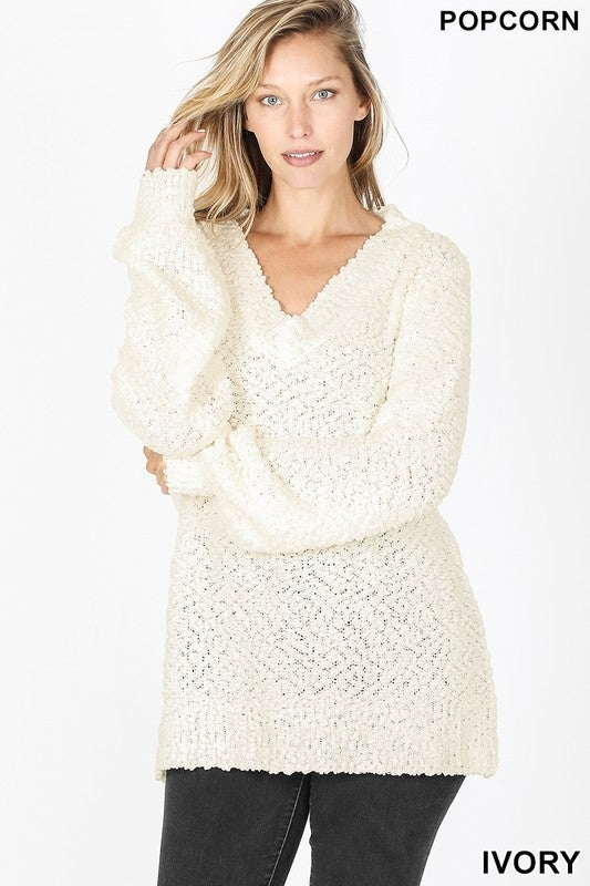 Laugh Often Sweater