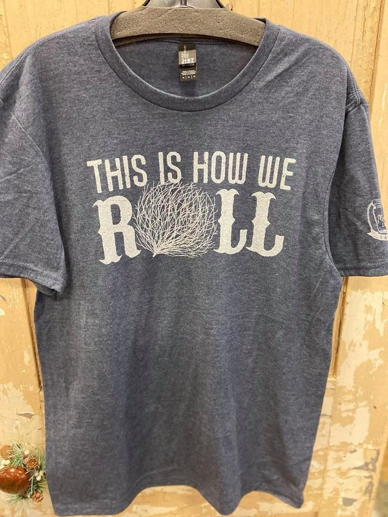 How We Roll Graphic Tee