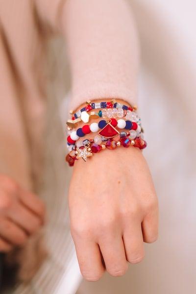Starburst Erimish Bracelet Stack
