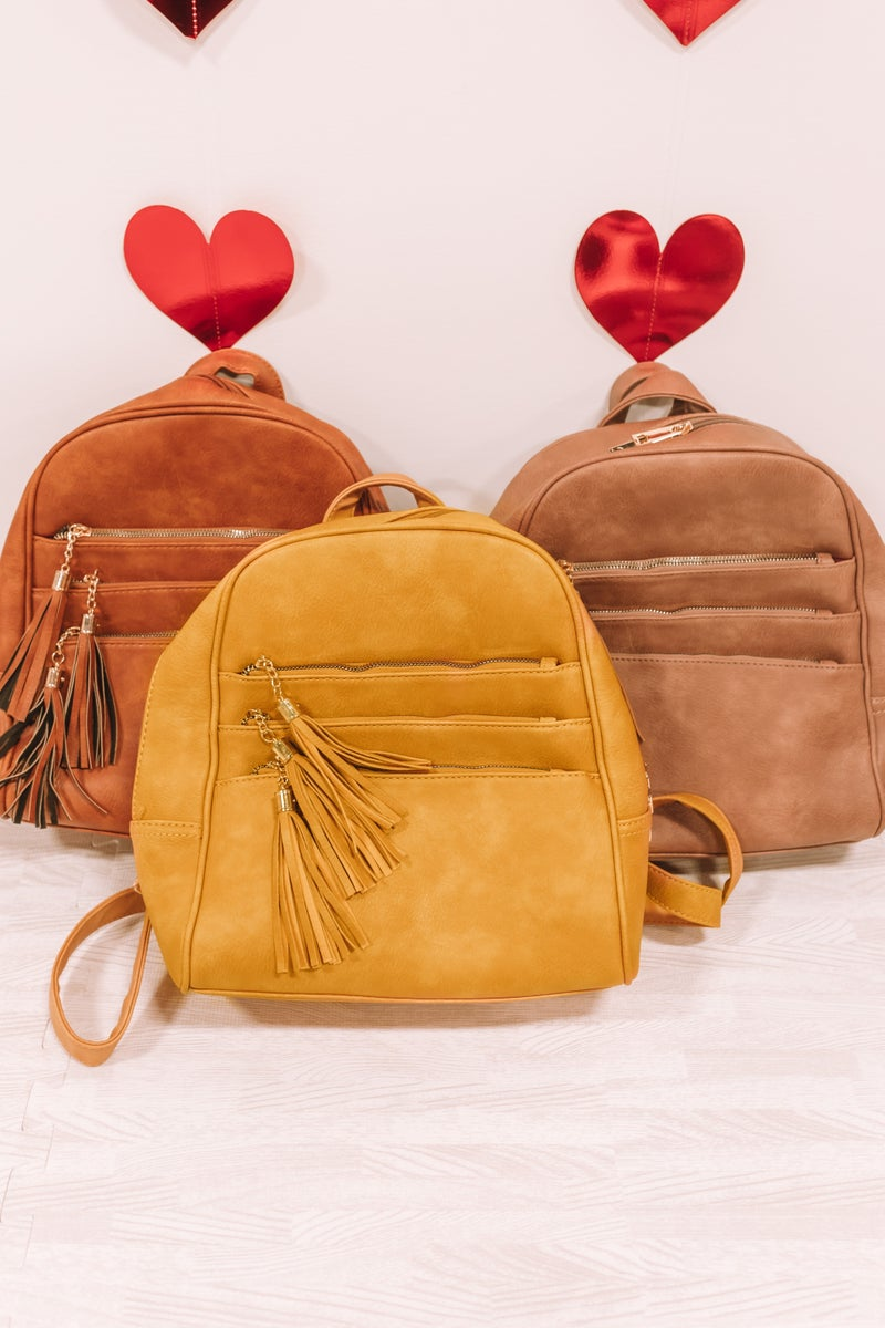 Can't Live Without You Backpack Purse