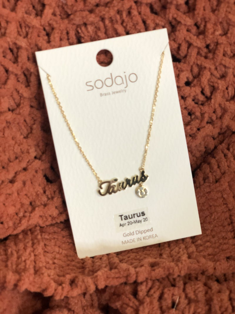 Here's Your Sign Necklace