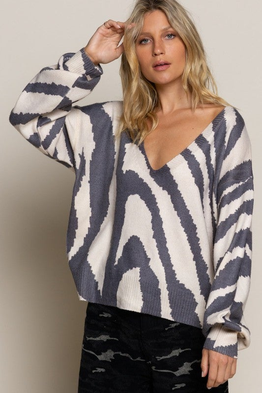 Caught In The Groove Sweater