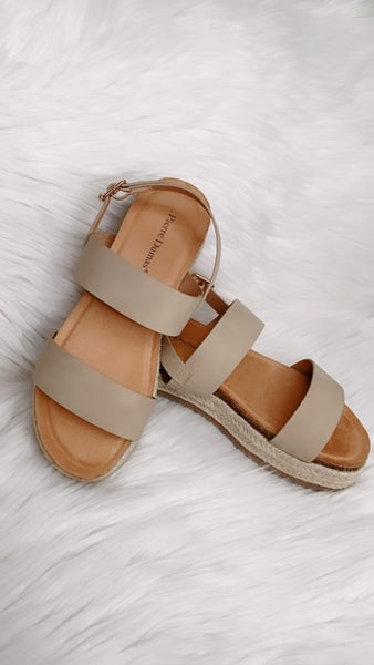 Follow Where You Go Platform Sandal