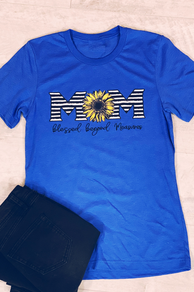 Blessed Mom Graphic Tee