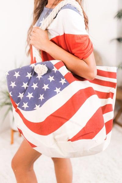 All American Beach Bag