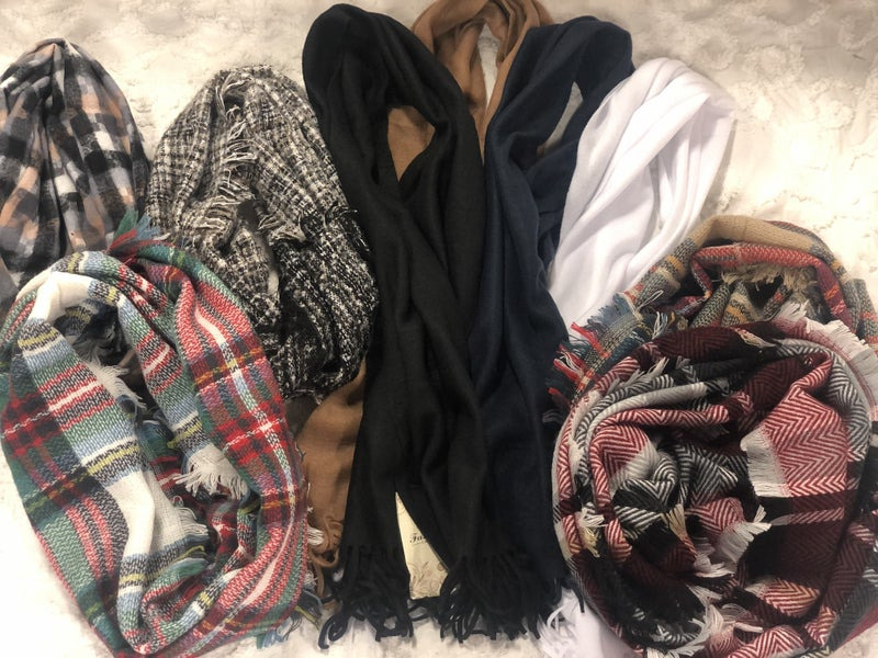 BUNDLE Accessories #18 (3 pc MYSTERY Scarf Mix)