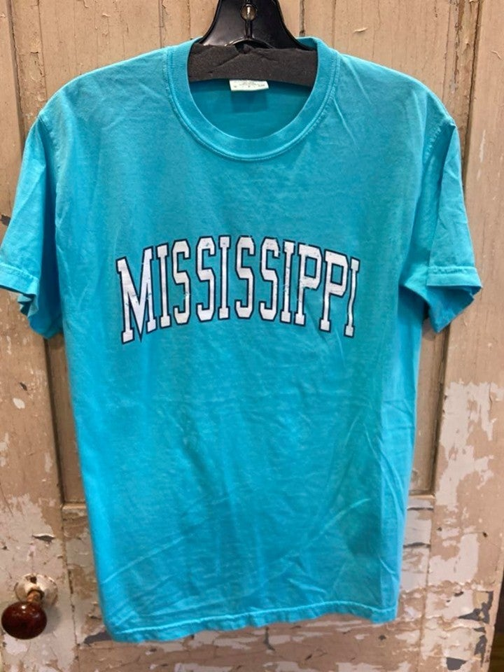 Distressed MS Graphic Tee