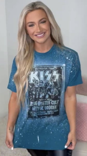 Kiss Tour Graphic Tee