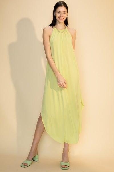 Causing Havoc Midi Dress