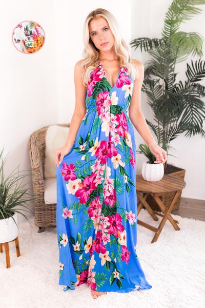 Tropical Wonders Maxi Dress