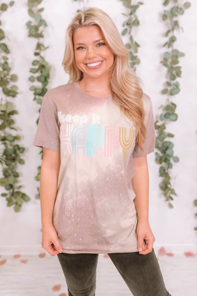 Keep It Happy Graphic Tee