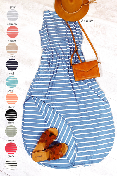 Hear Me Clearly Maxi Dress