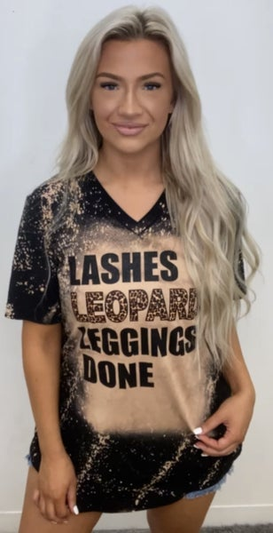 Lashes And Done Graphic Tee