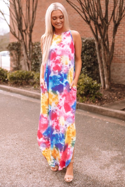 You'll Be Back Maxi Dress