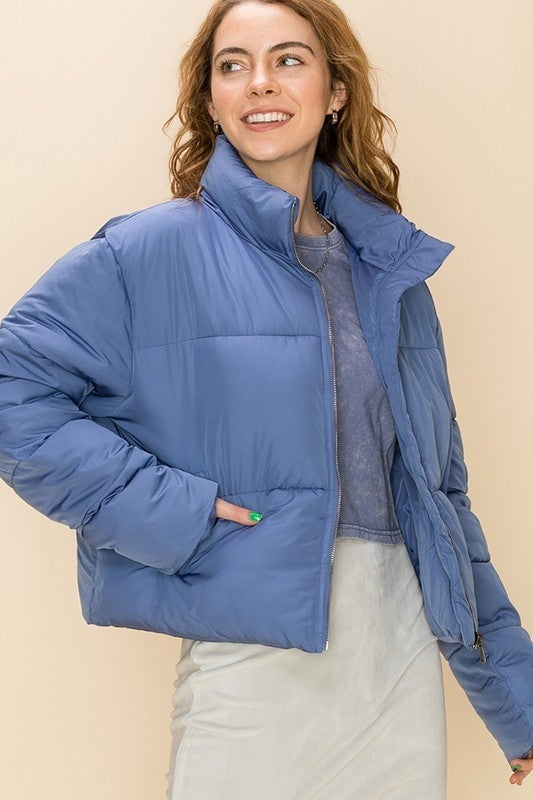 Keep Guessing Cropped Jacket