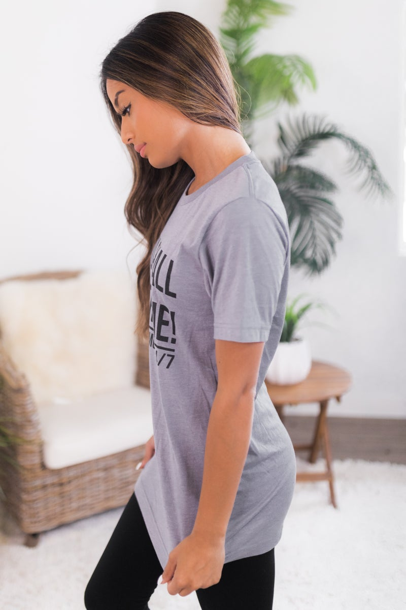 Shall NOT Try Me Graphic Tee