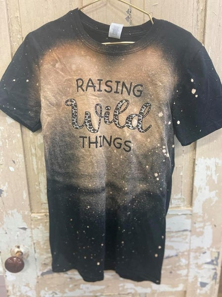 Raising Wild Things Graphic Tee