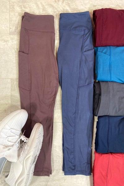 Capri Pocket Leggings/400