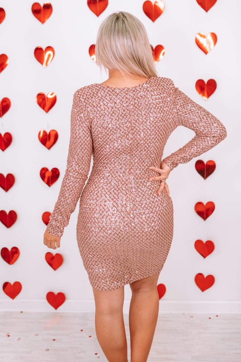 Heart Of Hearts Mini Dress