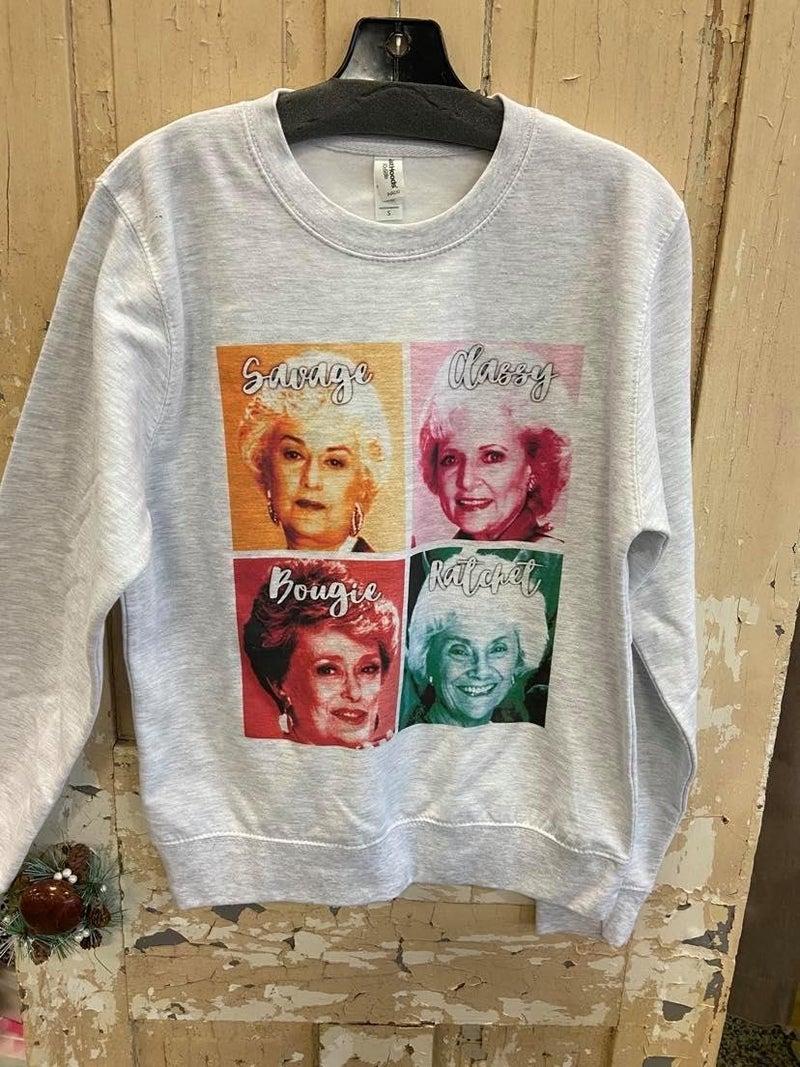Golden Girls Graphic Sweatshirt
